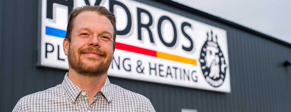 hydros plumbing & heating - Building Strong Relationships by Building with Strength